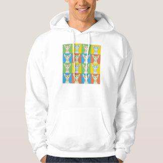 Sphynx Cat Cartoon Pop-Art Sweatshirt