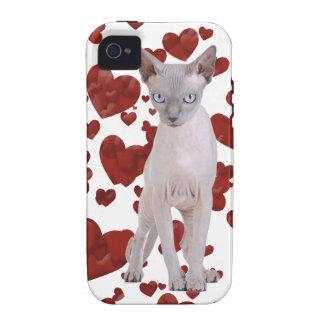 Sphynx cat iPhone 4 cases
