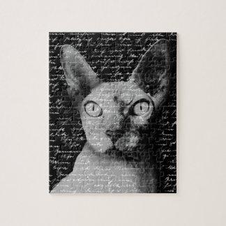 Sphynx cat jigsaw puzzle