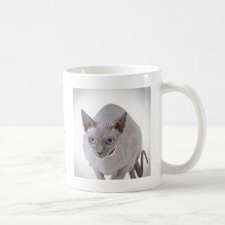 Sphynx cat classic white coffee mug