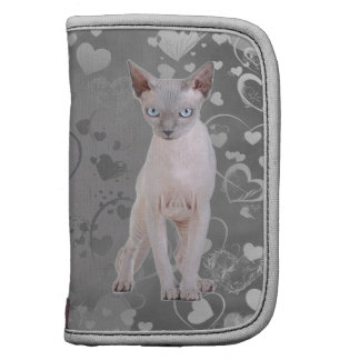 Sphynx cat folio planner