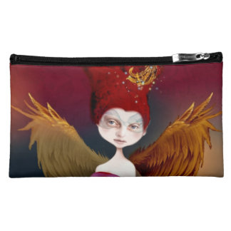 """ Sphynx""  Medium Cosmetic Bag"