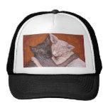 Sphynx Sphinx Cat Cats Nap Time Trucker Hats
