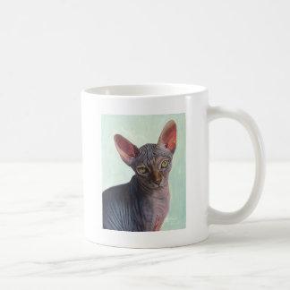 Sphynx Sphinx Cat Cats Sunitha Basic White Mug