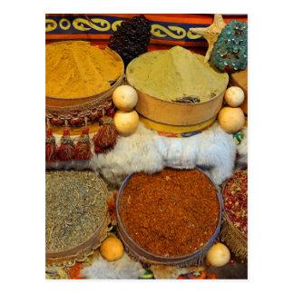 spice bazaar postcard