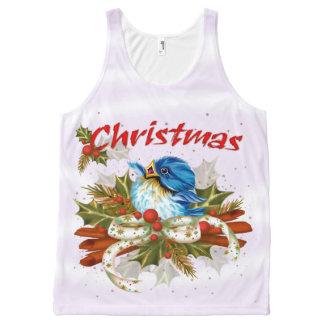 SPICE BIRD CHRISTMAS All-Over Printed Unisex Tank