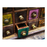 Spice drawers postcard