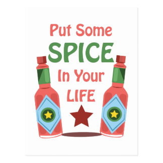 Spice In Your Life Postcard