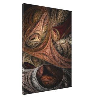 Spice Twist Fractal Art Canvas Prints