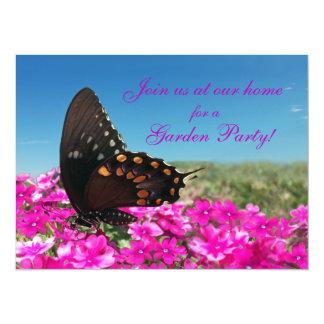 Spicebush Swallowtail Butterfly Invite