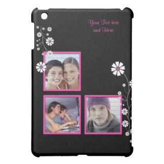 Spiced Pink Floral Custom Photo Template iPad Mini Case