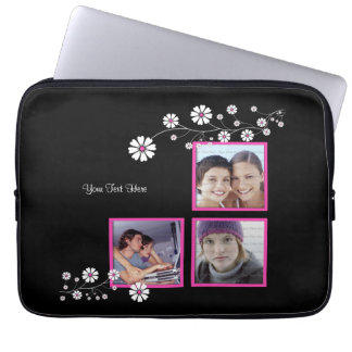 Spiced Pink Triple Photo Template Sleeve