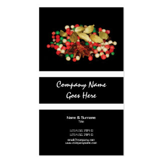 Spices indian oriental CUSTOM business profile Business Card Templates
