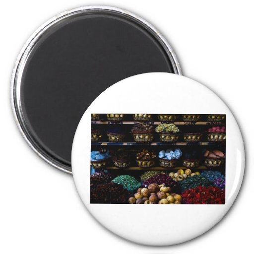 Spices of the Middle East Refrigerator Magnet