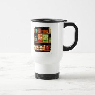 Spices on Shelf Stainless Steel Travel Mug