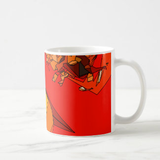 Spicy Bell Pepper Trio Coffee Mugs
