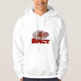 Spicy Cascabel Hot Pepper Design Sweatshirts