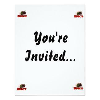Spicy Chocolate habanero Hot Pepper Design 11 Cm X 14 Cm Invitation Card