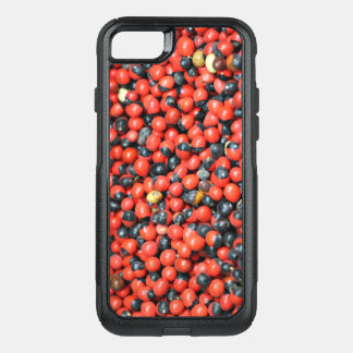 Spicy Floral Photo from Dubai [Red Pattern 3] OtterBox Commuter iPhone 8/7 Case