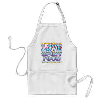 Spicy Food Love Face Standard Apron