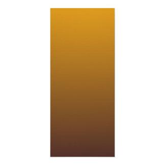 Spicy Gold Brown Ombre 10 Cm X 24 Cm Invitation Card
