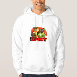 Spicy ! Hot habanero Pepper Pile Pepper Lover Gift Hoodie