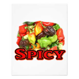 Spicy Hot habanero Pepper Pile Pepper Lover Gift Invitation