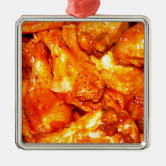 Spicy Hot Wings Christmas Ornament