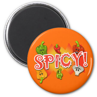 Spicy! Magnet