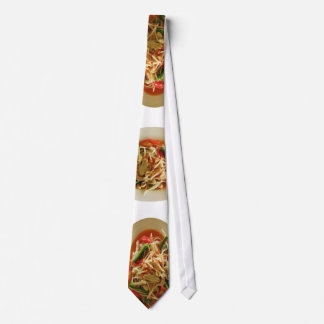 Spicy Papaya Salad [Som Tam] Tie