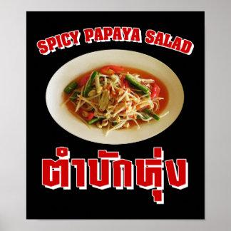 Spicy Papaya Salad [Tam Mak Hung] Isaan Dialect Poster