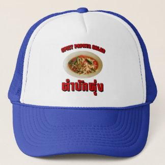 Spicy Papaya Salad [Tam Mak Hung] Isaan Dialect Trucker Hat