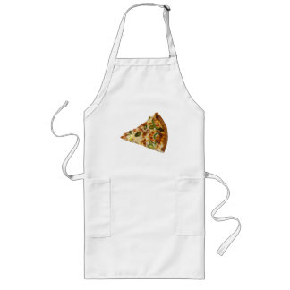 Spicy Pizza Slice Long Apron