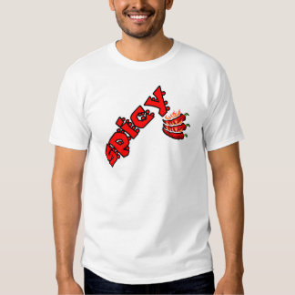 Spicy Red Hot Flaming Chili Pepper T-Shirt