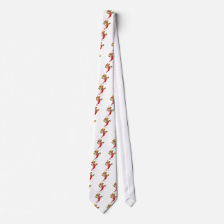 Spicy Red Pepper Mexican Mascot Tie