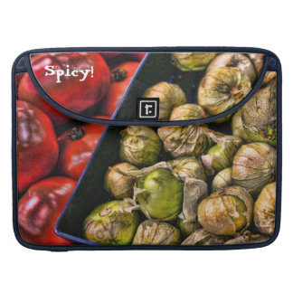 Spicy Tomatillos MacBook Pro Sleeve