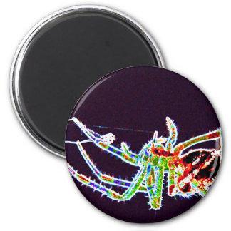 spider 1a 6 cm round magnet
