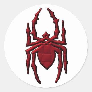 Spider 2 classic round sticker