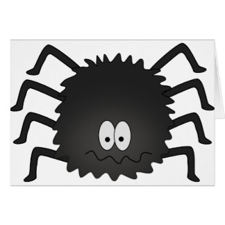 spider (2) greeting card