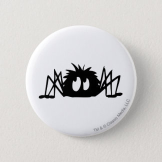 Spider 6 Cm Round Badge