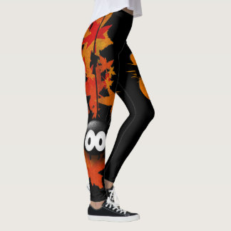 Spider and goblin leggings