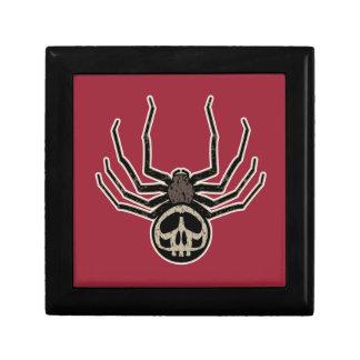 Spider and Skull Tattoo Gift Box