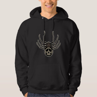 Spider and Skull Tattoo Hoodie