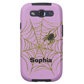 Spider and Web Galaxy SIII Case