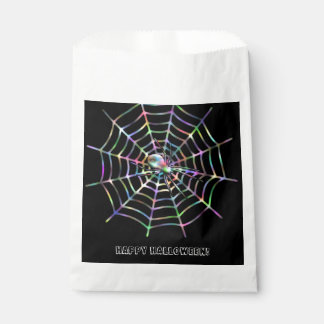 Spider and Web Halloween Favor Bags Favour Bags
