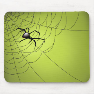 Spider and Web Mouse Mat