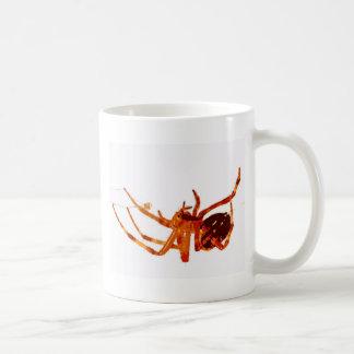 spider basic white mug