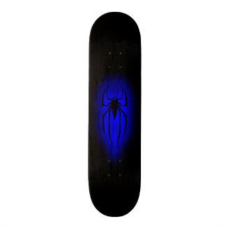 Spider - Blue Skate Deck
