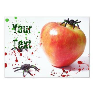 Spider Cider Apple Invite