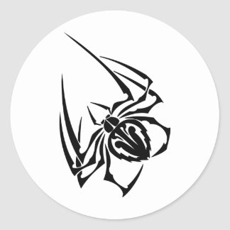 Spider Classic Round Sticker
